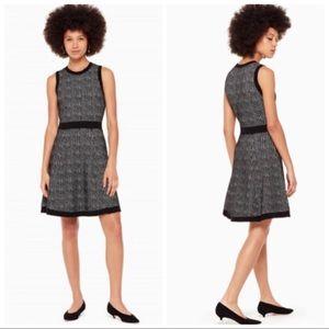 Kate Spade Mod Plaid Sweater Dress Size Medium NWT